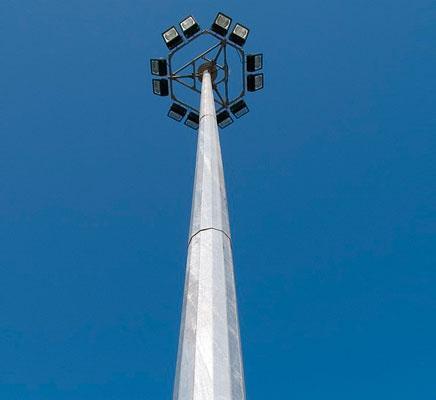 پایه روشنایی برج نوری