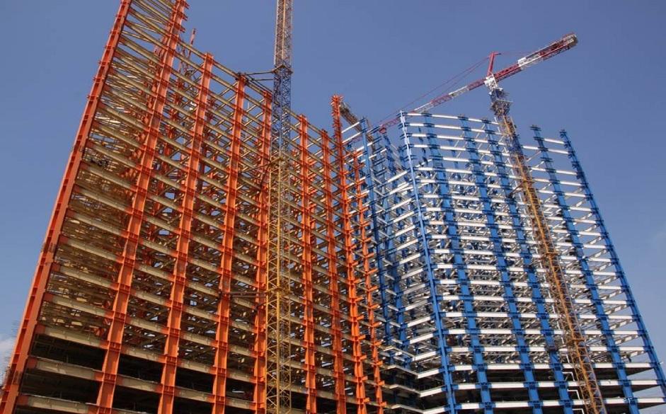 سازه فلزی ساختمانی