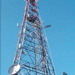 Four Legged Angular Telecommunication Tower