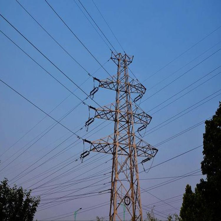 Angle steel transmission tower