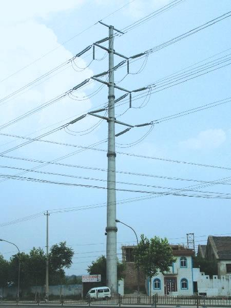 Monopole tower communication pole tower