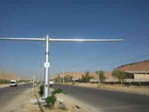 پایه های کنترل سرعت استان فارس