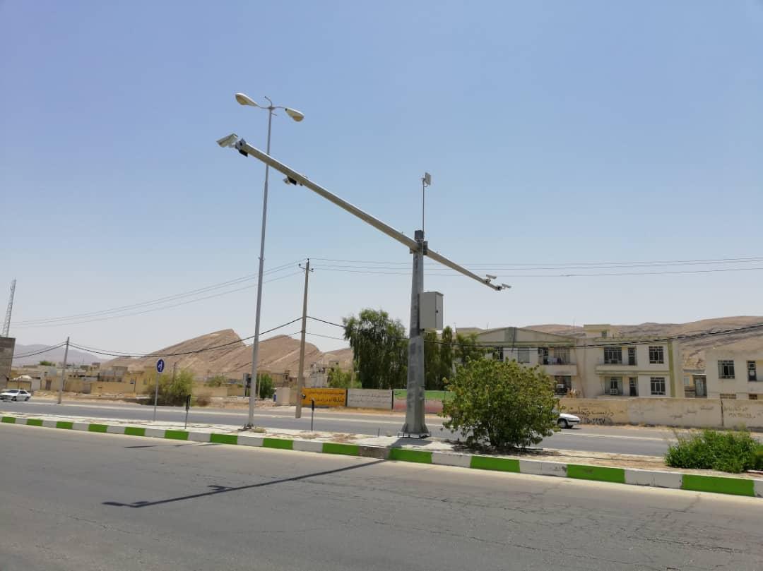 پروژه دکل دوربین استان هرمزگان